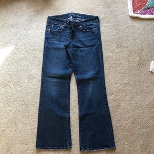 Womens American Eagle Favorite Boyfriend Jeans
